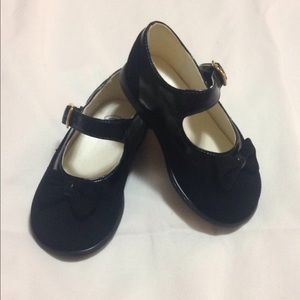*Host Pick* Girls Size 5 Black Bow Shoes